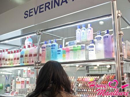 Особенности продукции для ногтей Severina
