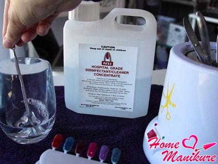 стерилизация маникюрных инструментов дома
