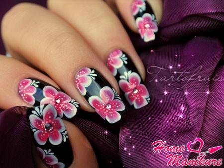 китайская роспись ногтей от бесподобной Tartofraises