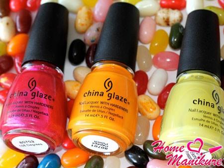Лаки China Glaze – прекрасное украшение для женских рук