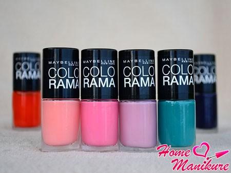 Лаки Colorama – сочные цвета лета на ваших ногтях