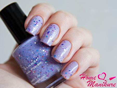 модный дизайн ногтей с инди-лаком