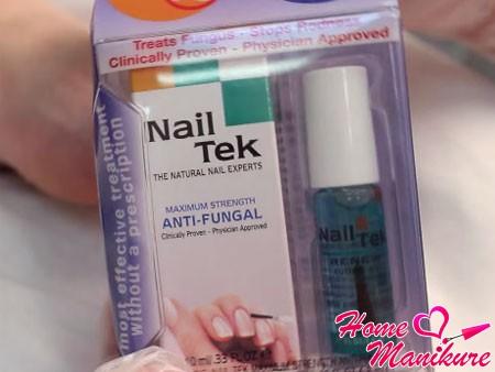 специальный набор Nail Tek для педикюра