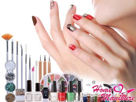 Способы декорирования натуральных ногтей