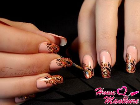 фото рисунки на ногтях смотреть