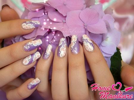 великолепные рисунки на ногтях