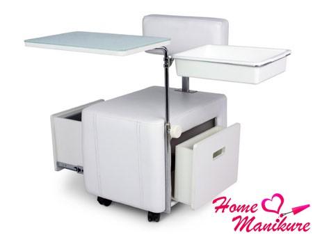 интересный стол-трансформер для маникюра