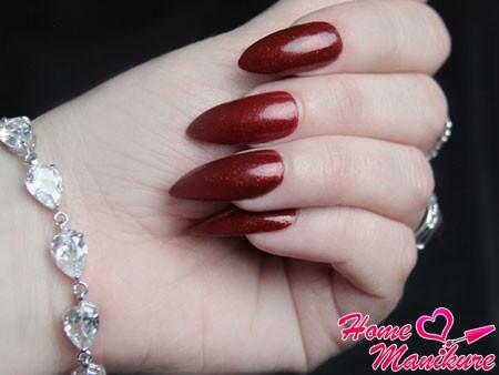 Нанесение гель лака на тонкие ногти