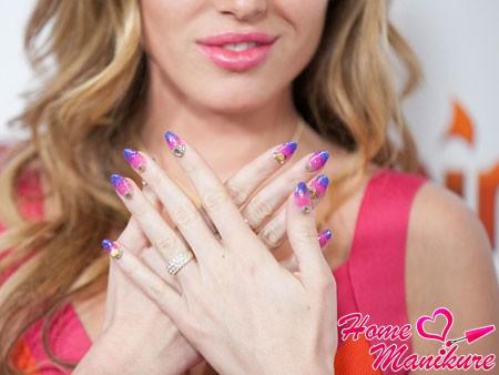 стильный дизайн ногтей на осень 2014