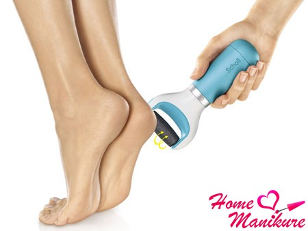 Электрическая роликовая пилка для ног Scholl Velvet Smooth
