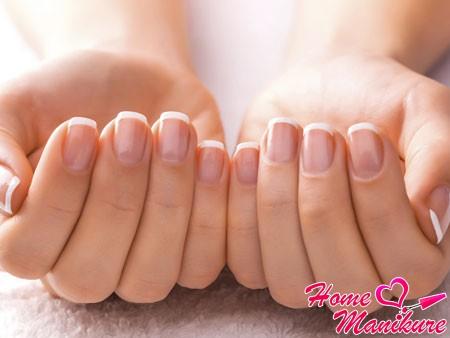 идеальные ногти без деформации