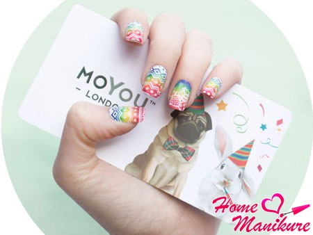 Маникюр moyou london 48