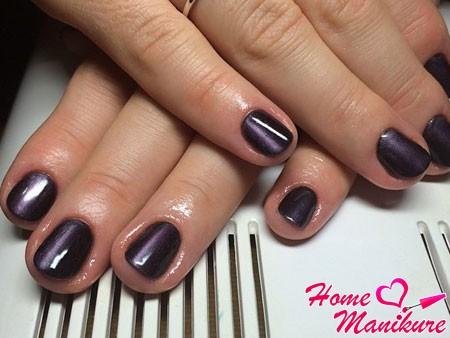 фиолетовый магнитный дизайн