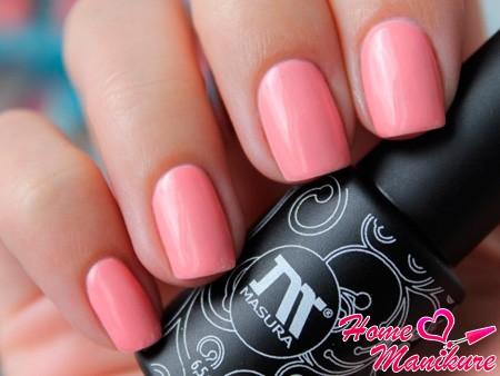 розовый шеллак Masura