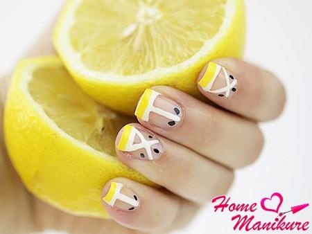 френч с лимоном