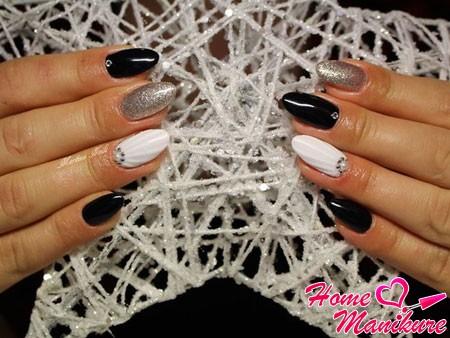 эффект ракушки на ногтях