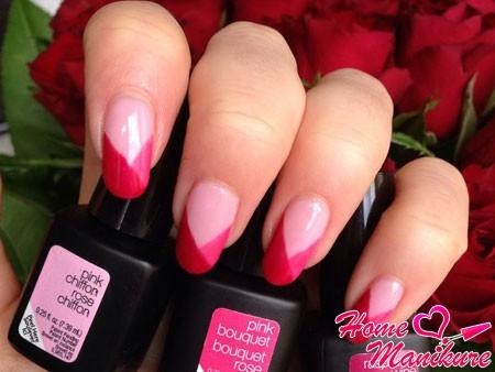 малиновые и розовые гель-лаки