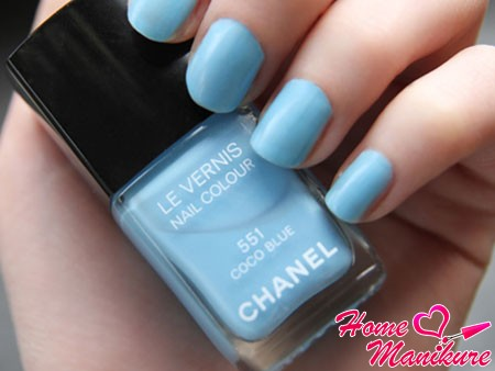 лак для ногтей Chanel Coco Blue