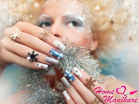 новогодний образ Снегурочки