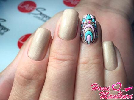 объемный дизайн безымянного пальца