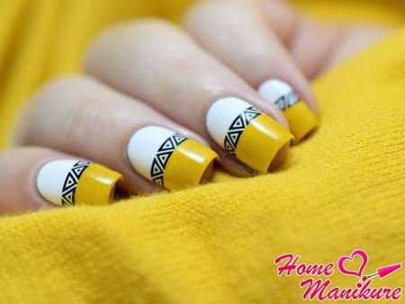моднейший дизайн ногтей